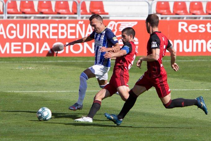 La Deportiva se trae tres valiosos puntos del Anduva y reafirma su intención de quedarse en la Liga SmartBank 4