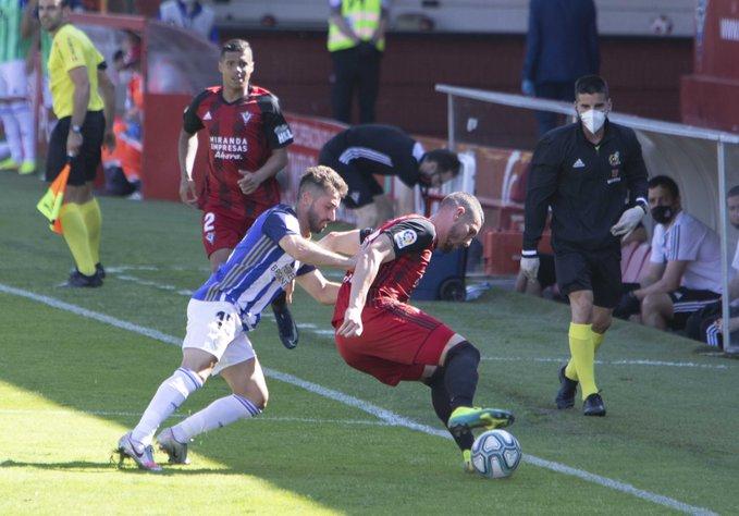 La Deportiva se trae tres valiosos puntos del Anduva y reafirma su intención de quedarse en la Liga SmartBank 3