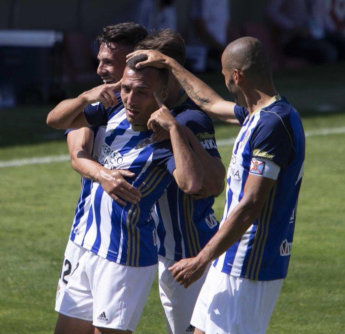 La Deportiva se trae tres valiosos puntos del Anduva y reafirma su intención de quedarse en la Liga SmartBank 1