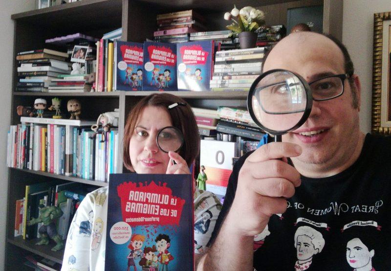 Profesor10demates vuelve a la carga con un nuevo libro: 'La Olimpiada de los Enigmas' y lo presenta de nuevo en Youtube 1