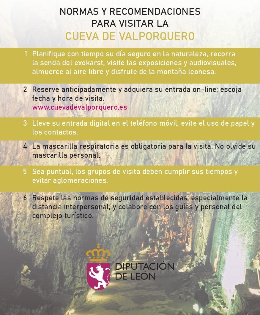 La Cueva de Valporquero reabre este sábado adaptando sus visitas para garantizar la seguridad 2