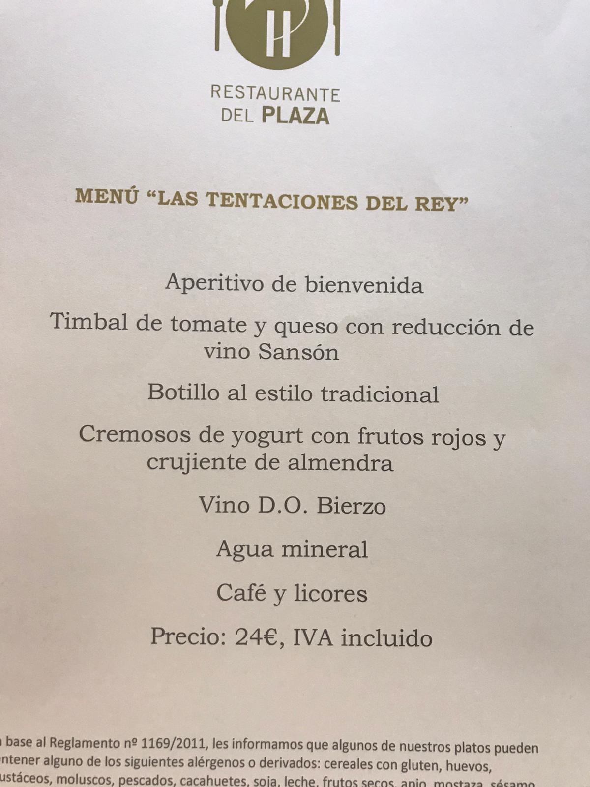 Reseñas Gastronómicas: Restaurante del Hotel Ponferrada Plaza 2