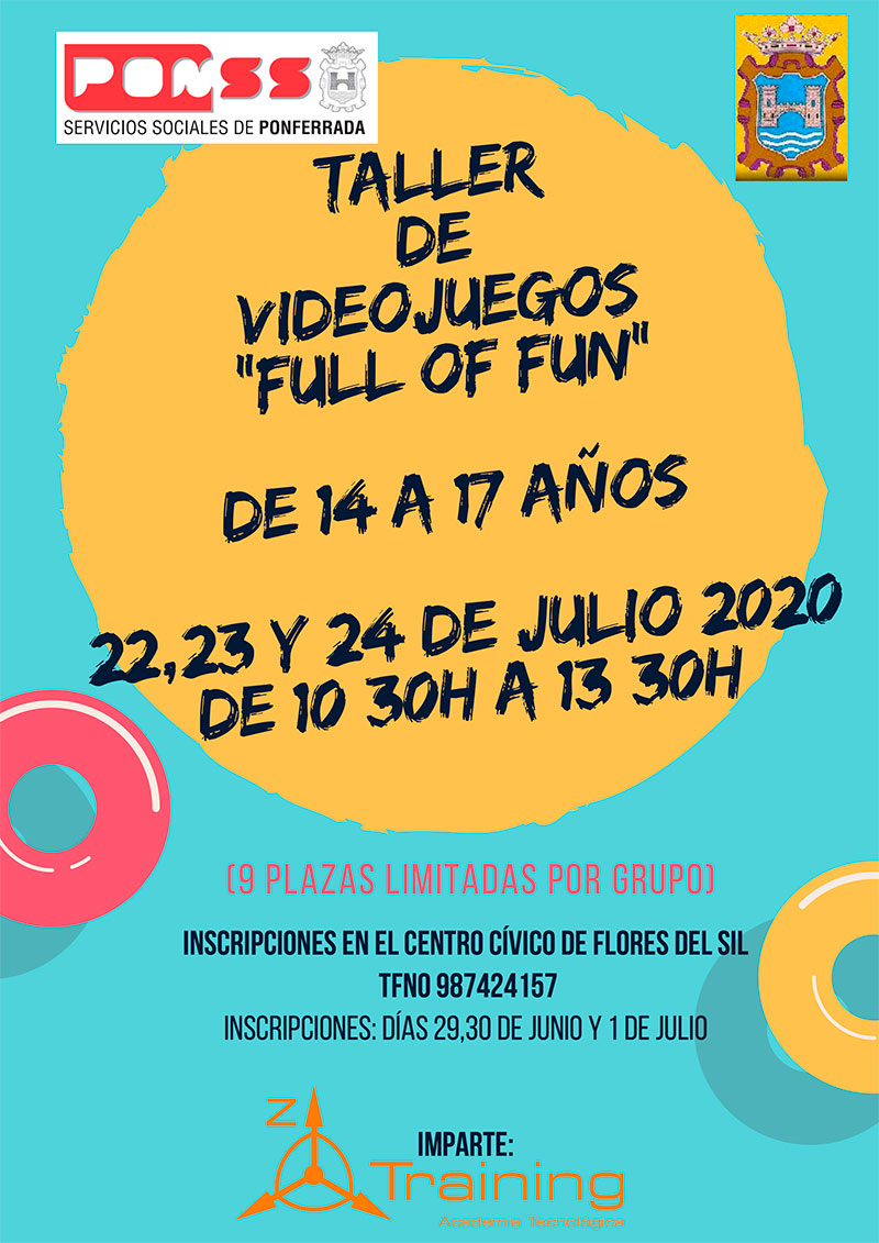 "Taller de Videojuegos ""Full of Fun"" 2020 1"