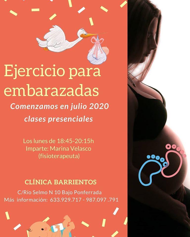 Clínica Barrientos comienza las clases de 'Ejercicio para embarazadas' 2