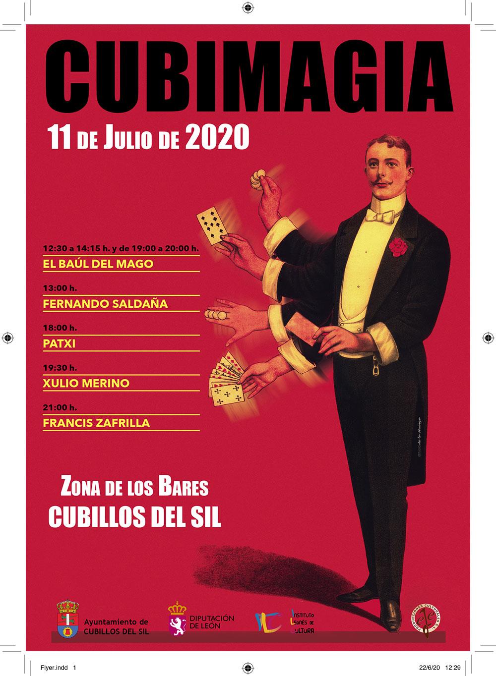 Cubillos del Sil llenará de magia el verano con Cubimagia 2020 2