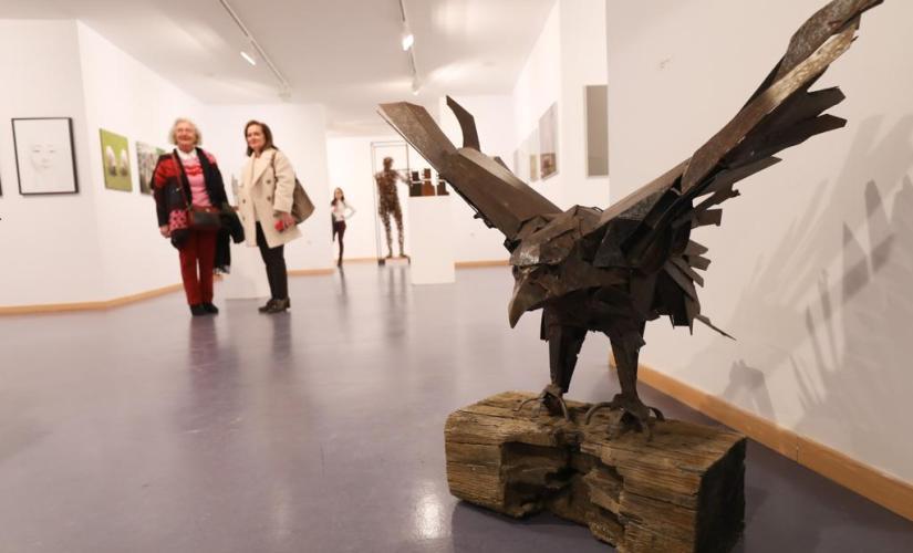 'Creación y diálogo' regresa mañana a la sala de exposiciones del Campus de Ponferrada. 1