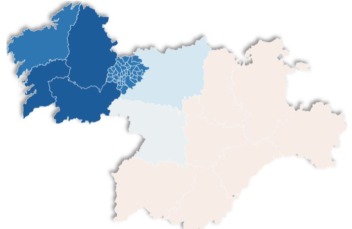 A los gallegos les gustaría mayoritariamente incorporar a la comarca del Bierzo como quinta provincia según una encuesta 1