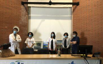 La Asociación de pintores del Bierzo dona obras de sus componentea al Hospital de Bierzo, centros de salud y el Ayuntamiento de Ponferrada para recordar la pandemia vivida 8