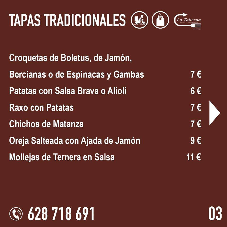 El Restaurante La Taberna se suma a la oferta de comida de calidad para llevar y a domicilio en Ponferrada 5
