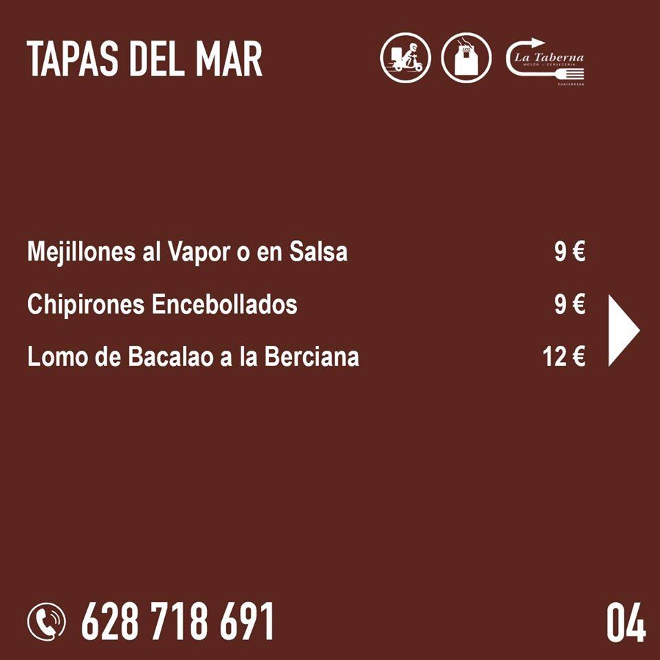 El Restaurante La Taberna se suma a la oferta de comida de calidad para llevar y a domicilio en Ponferrada 6