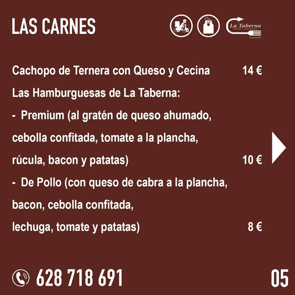 El Restaurante La Taberna se suma a la oferta de comida de calidad para llevar y a domicilio en Ponferrada 7