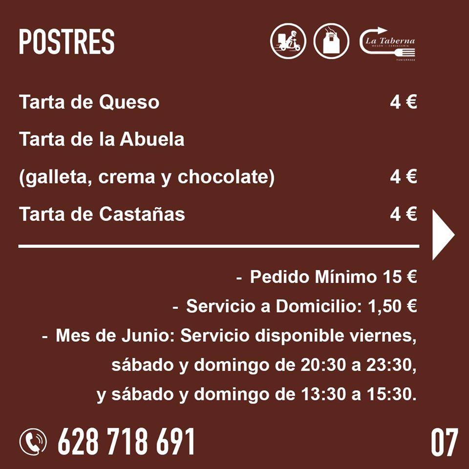 El Restaurante La Taberna se suma a la oferta de comida de calidad para llevar y a domicilio en Ponferrada 9