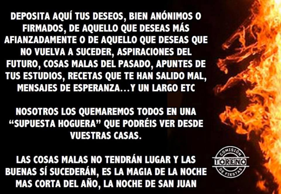 La comisión de fiestas de Toreno abre un buzón de los deseos donde los vecinos podrán dejar todo aquello que quieran que arda en la hoguera de San Juan 3