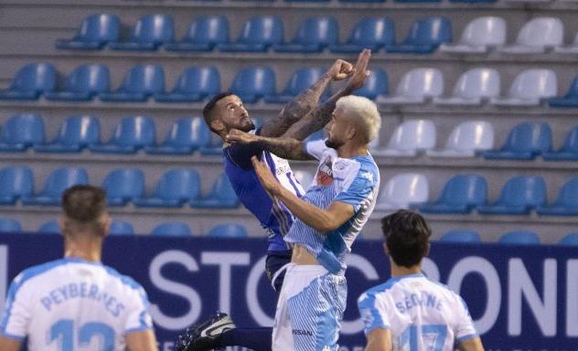 SD Ponferradina 0 CD Lugo 1. La Ponferradina sigue sin saber salir del lío y suma la cuarta derrota consecutiva 1