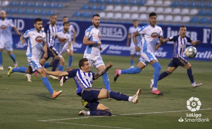 SD Ponferradina 0 CD Lugo 1. La Ponferradina sigue sin saber salir del lío y suma la cuarta derrota consecutiva 4