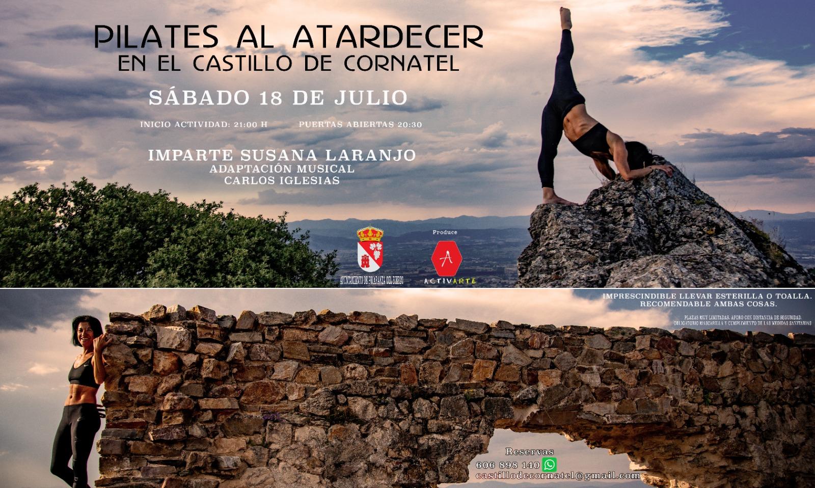 Tributo a Sabina y clase de Pilates en el Castillo de Cornatel durante el fin de semana 3