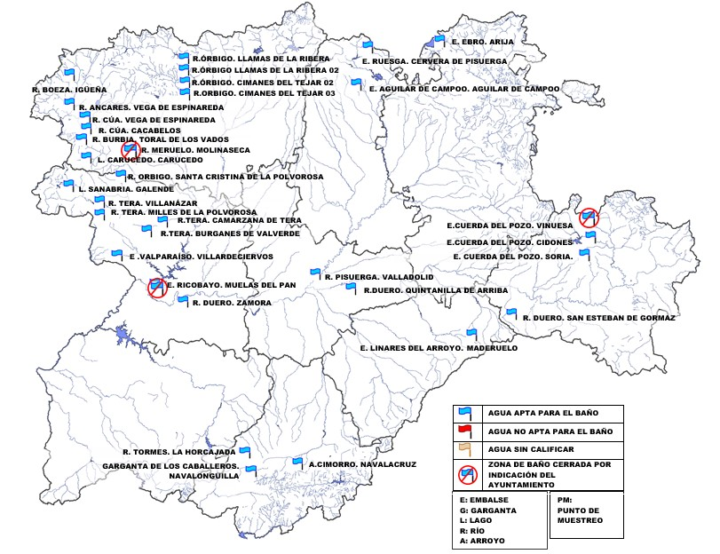 Playas fluviales en el Bierzo donde si te puedes bañar y en las que está prohibido este 2020 2