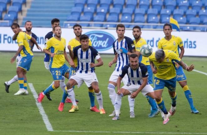 UD Las Palmas 3 - SD Ponferradina 0. La Deportiva no levanta cabeza en el momento más importante 1