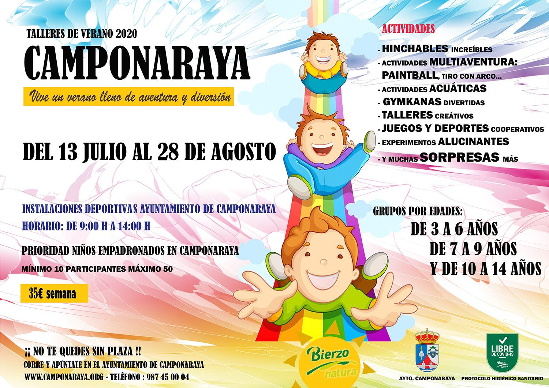 Camponaraya organiza talleres de verano para los peques de la casa 2