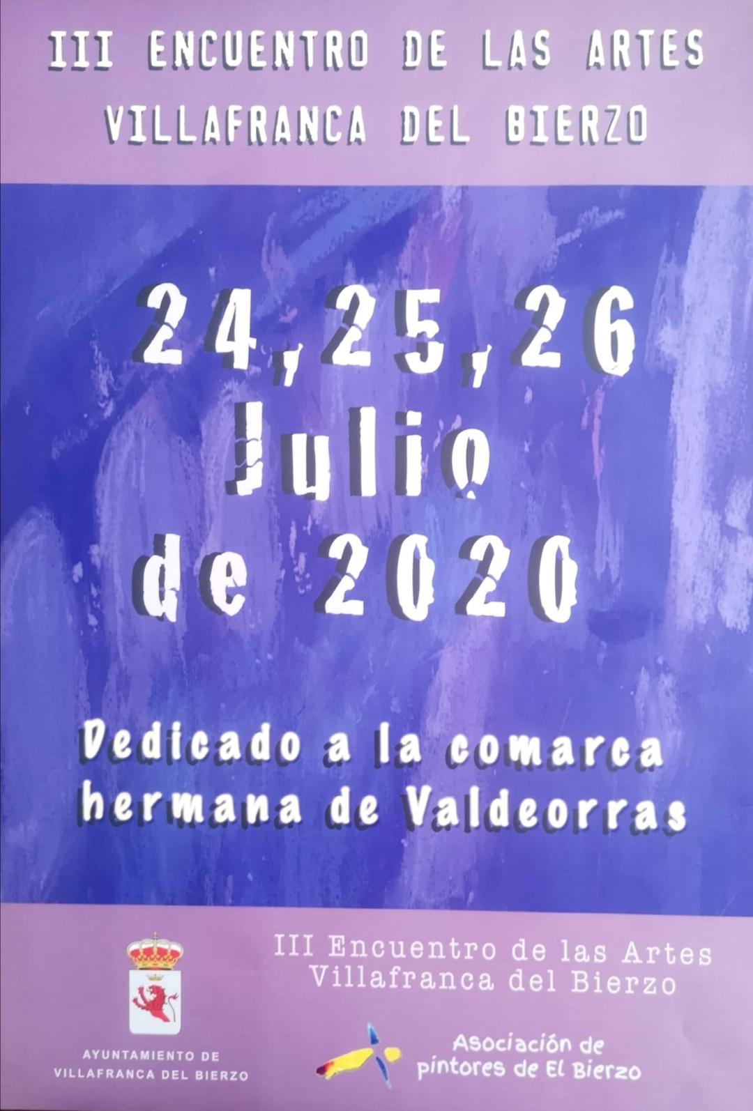 III Encuentro de las Artes de Villafranca del Bierzo 1