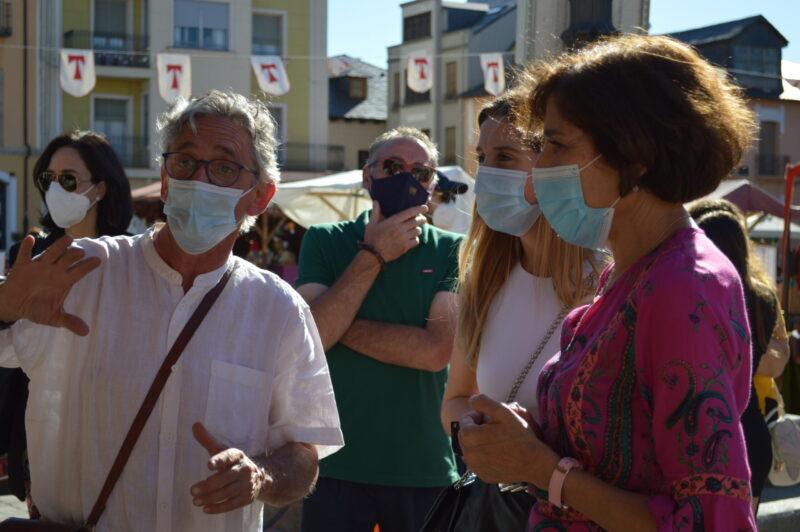 El mercado templario de Ponferrada ya recibe a sus visitantes con medidas sanitarias para los visitantes 2