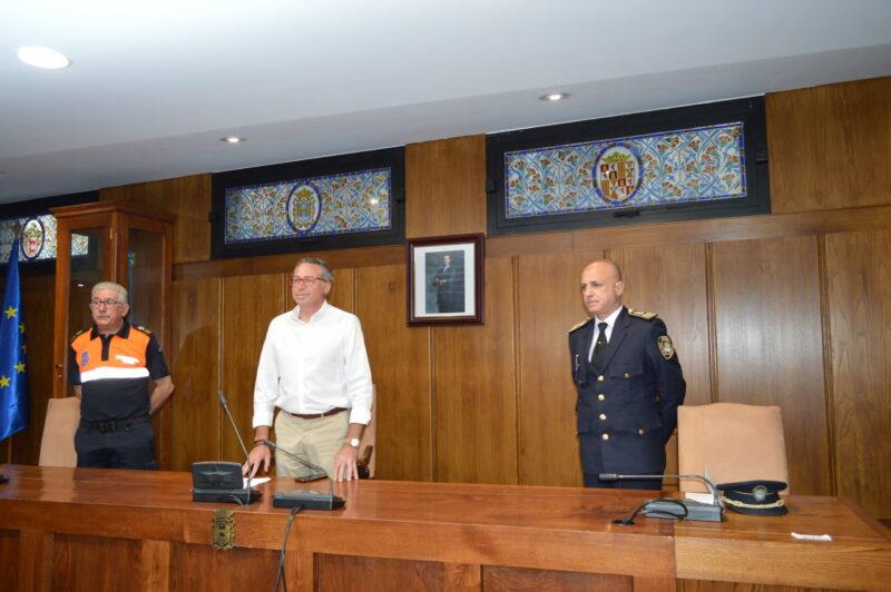 Efectivos de la Policía Municipal, Nacional y Protección Civil velarán por la masa forestal, los domicilios y los negocios de Ponferrada durante las vacaciones 1
