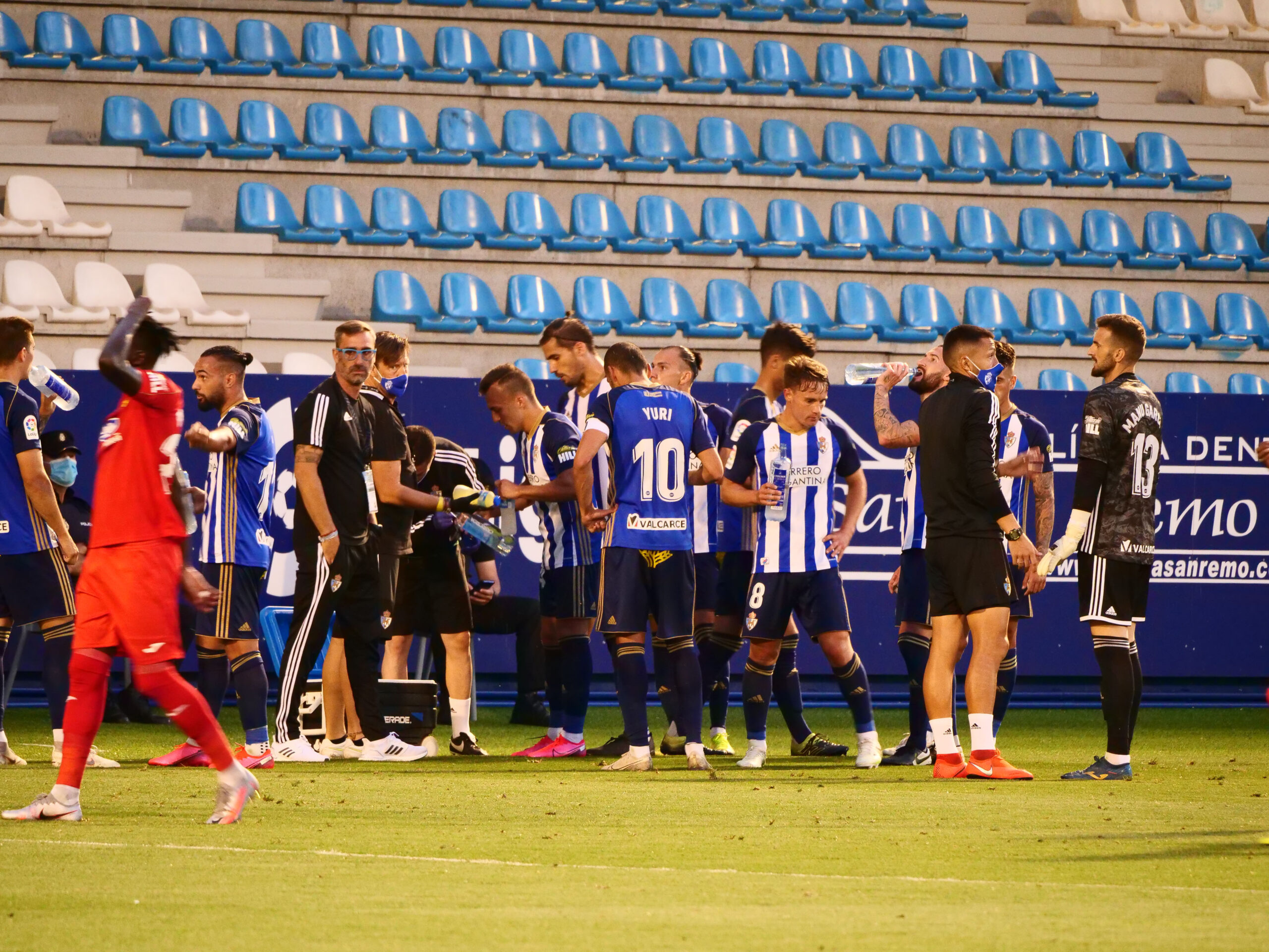 Fotogalería del partido Ponferradina - Fuenlabrada (0 - 3) 7