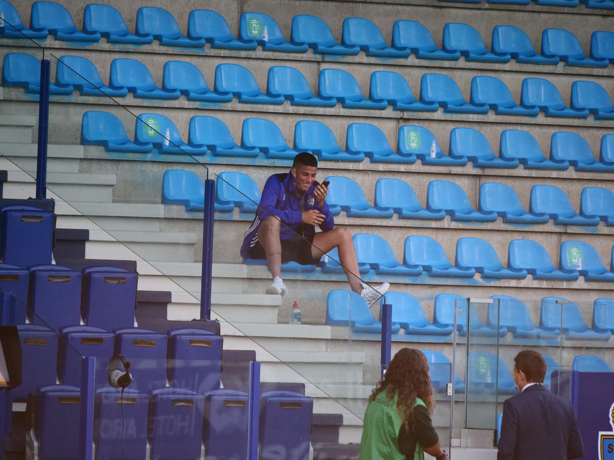 Fotogalería del partido Ponferradina - Fuenlabrada (0 - 3) 16