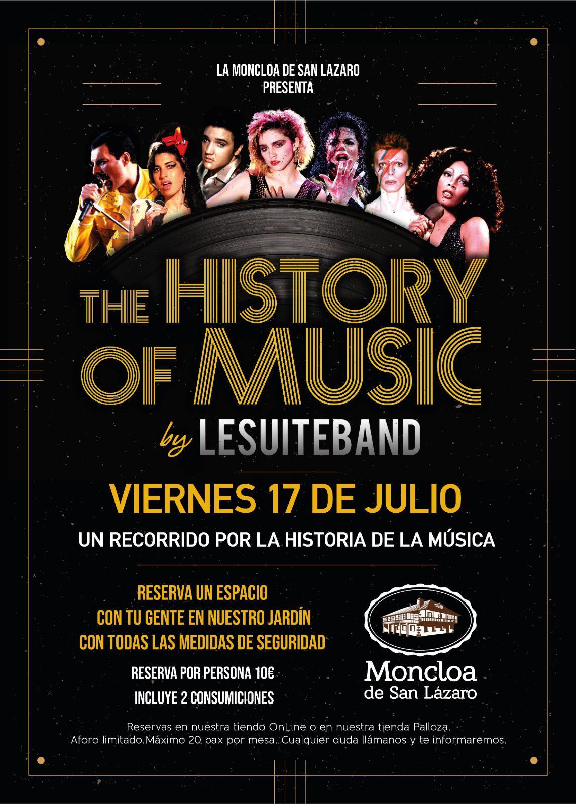 'The History of Music' un recorrido musical por la historia de la música disfrutando del jardín La Moncloa de Cacabelos 1
