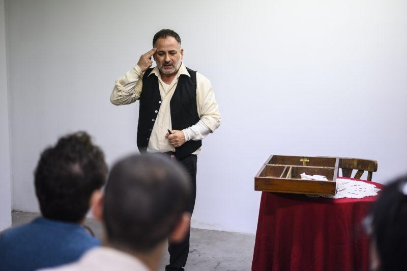 """""""Vidas enterradas""""los monólogos creados a partir del programa del mismo nombre de la SER, llegan al Patio de la Higuera del Museo del Bierzo 1"""