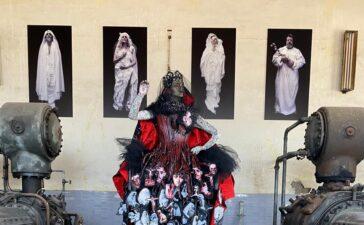 La Diputación convierte el Pozo Julia de Fabero en un gran escenario para el arte contemporáneo 7