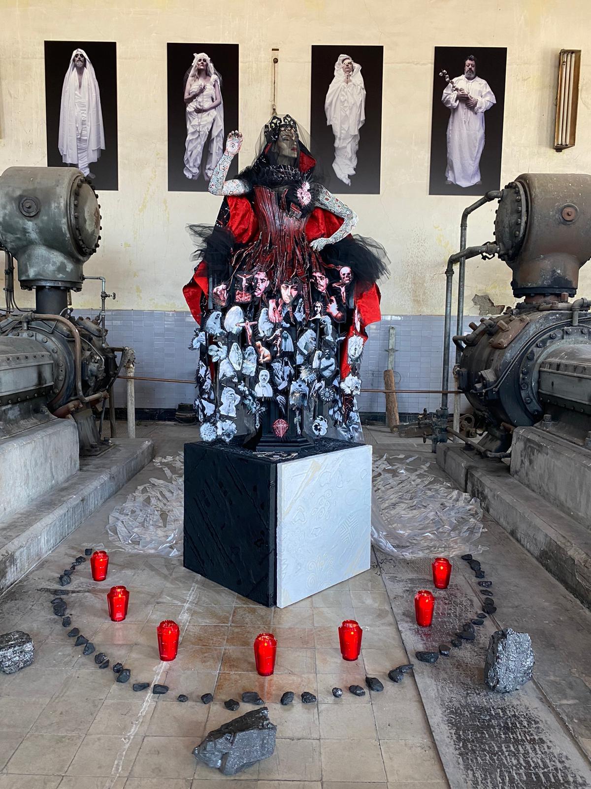 La Diputación convierte el Pozo Julia de Fabero en un gran escenario para el arte contemporáneo 1