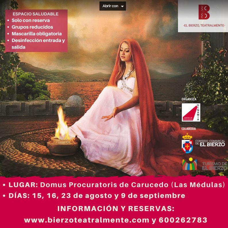 El Consejo Comarcal y Dinamia Teatro recuperan el proyecto de visitas teatralizadas en la Domus 2