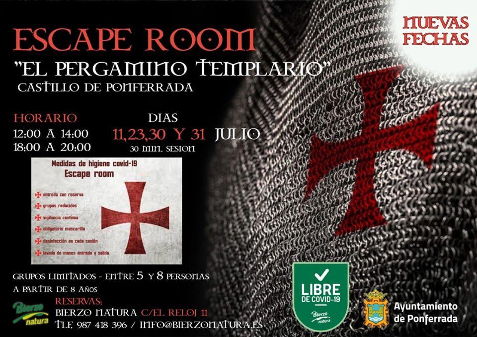 El Escape Room Templario del Castillo amplía fechas durante el verano 1
