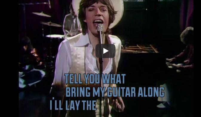 Los Rolling Stones lanzan 'Scarlett' un tema inédito que grabaron en los 70 con Jimmy Page de Led Zeppelin 1