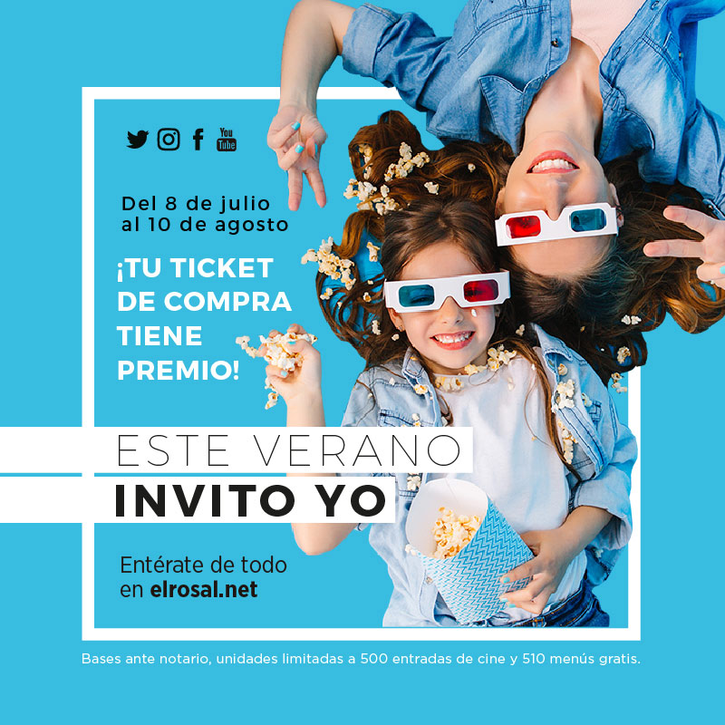 El CC El Rosal lanza la campaña 'Este verano invito yo' con premios directos y sorteos para agradecer el retorno de sus clientes 2