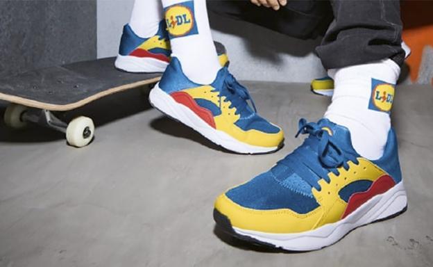 Así son las zapatillas que Lidl venderá en España por 12,99€ y por las que se han pagado hasta 1000€ en Ebay 2