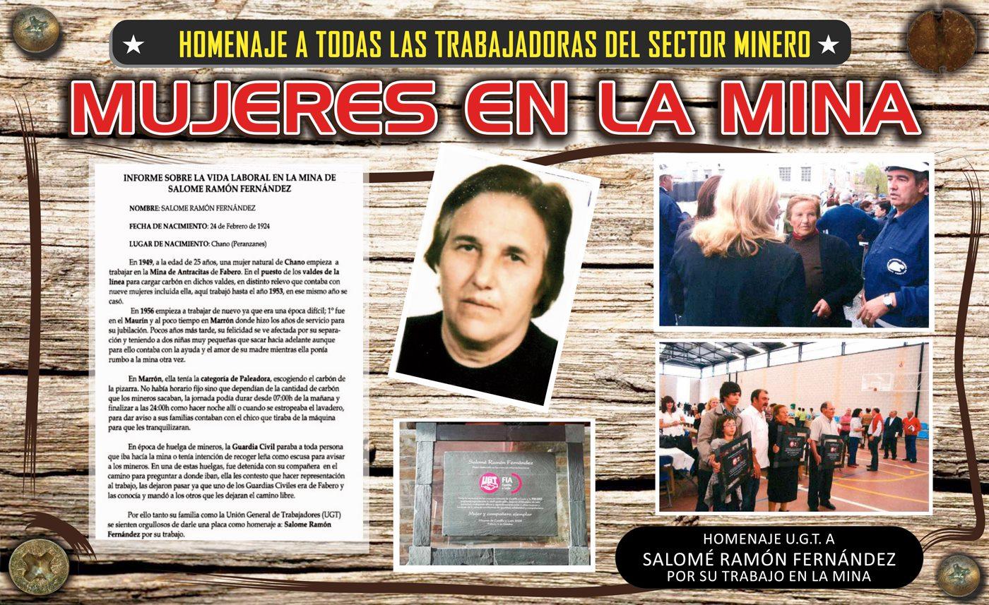 El pozo Julia de Fabero solicita la colaboración de los vecinos para crear el archivo 'Mujeres en la mina' 2