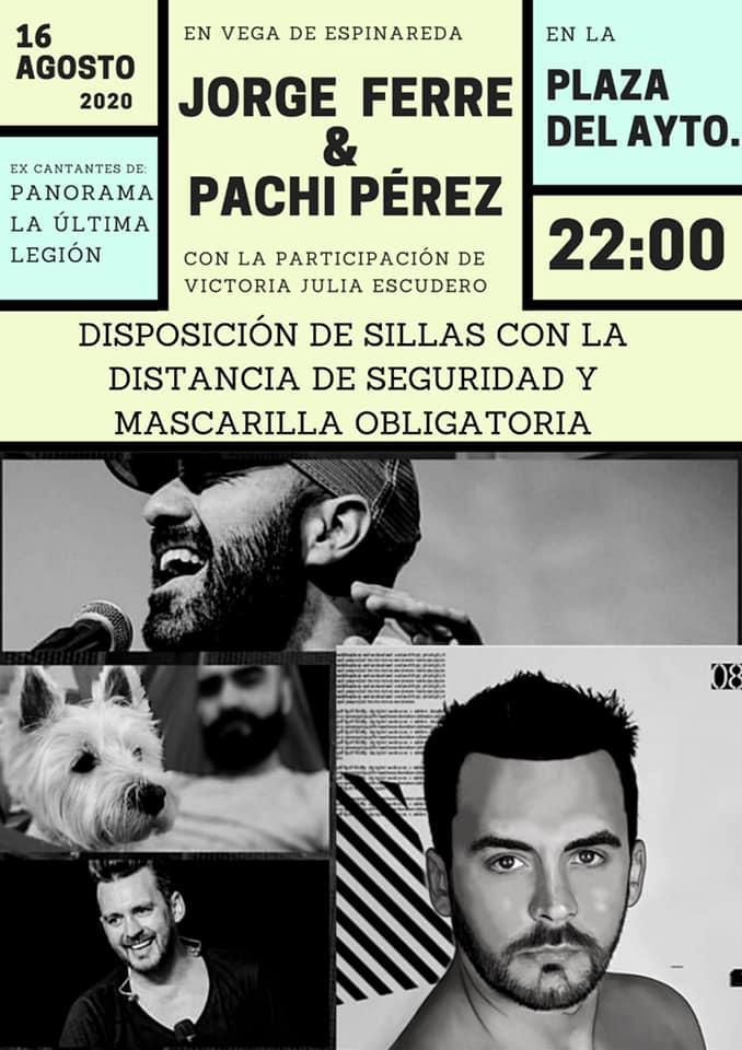 Concierto de Jorge Ferré y Pachi Pérez este domingo en Vega de Espinareda 2