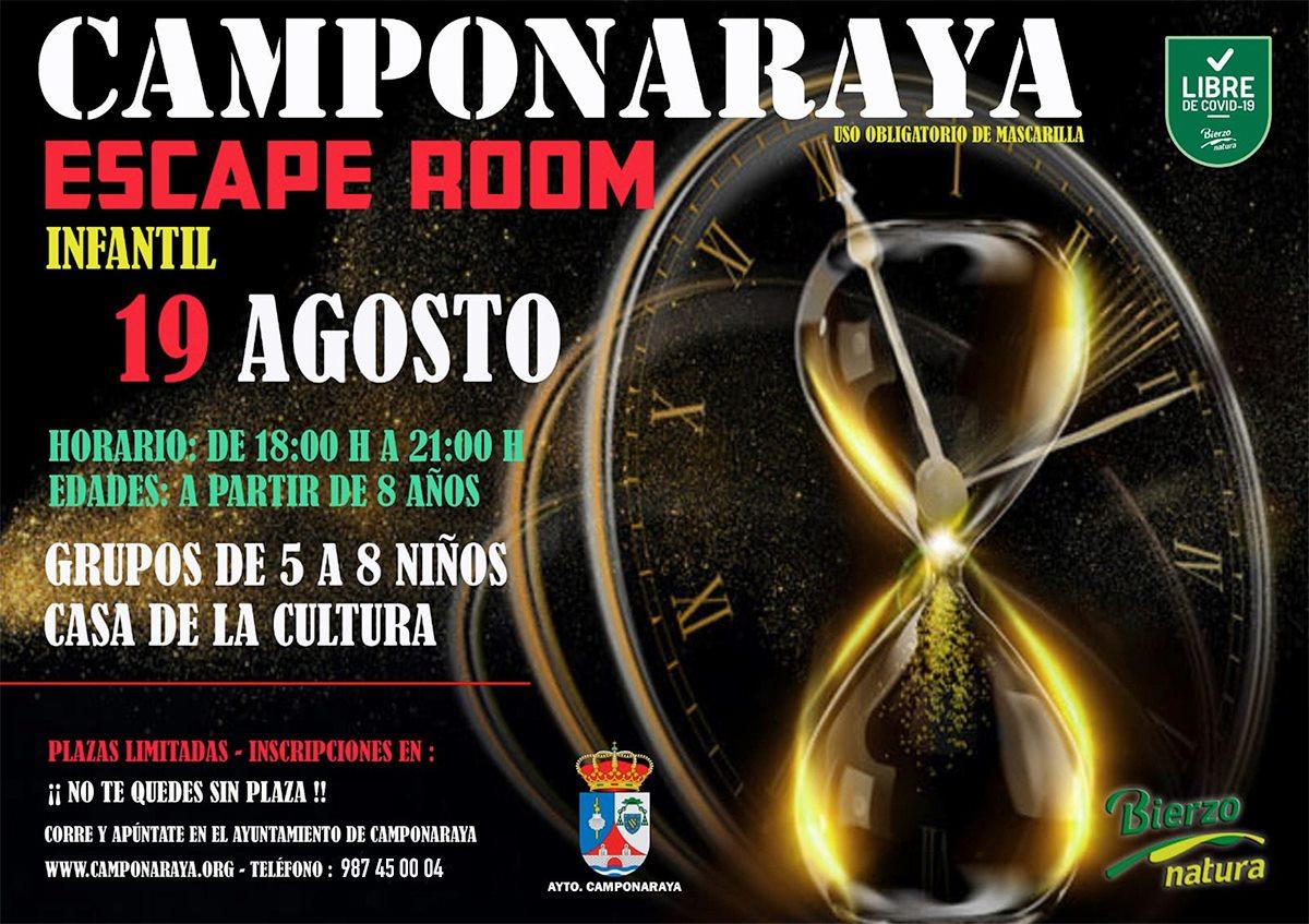 Camponaraya organiza una Escape Room infantil 2