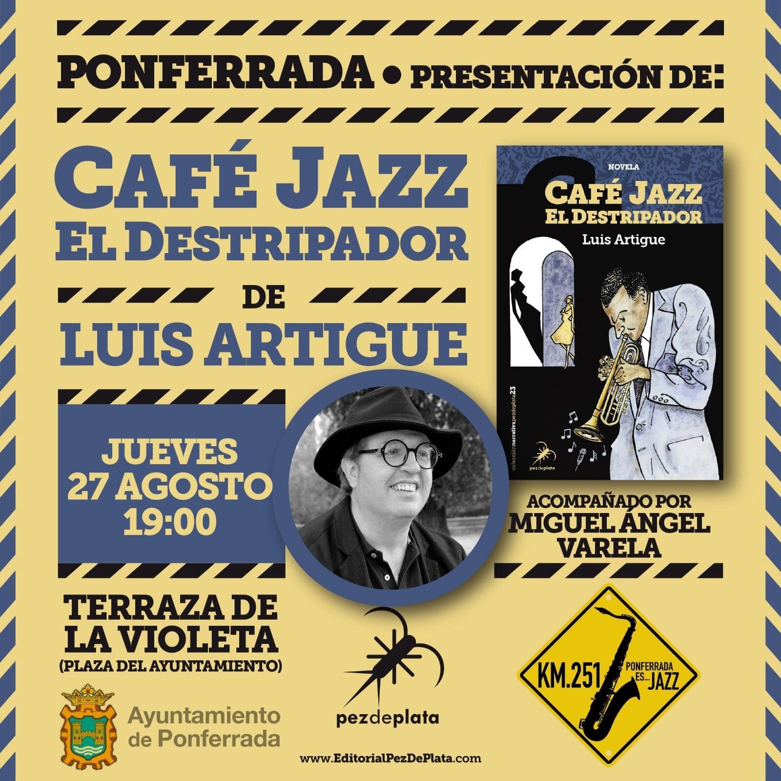 La terraza del Restaurante La Violeta será este jueves el escenario de la presentación del libro