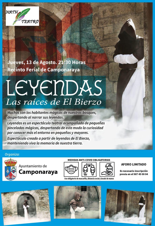 """La compañía berciana NATH Teatro vuelve a los escenarios con su espectáculo """"Leyendas, Las raíces del Bierzo"""" 1"""