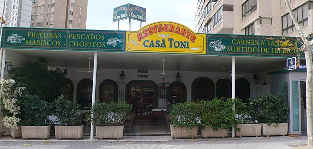 Reseña gastronómica: Restaurante Toni en Benidorm 1