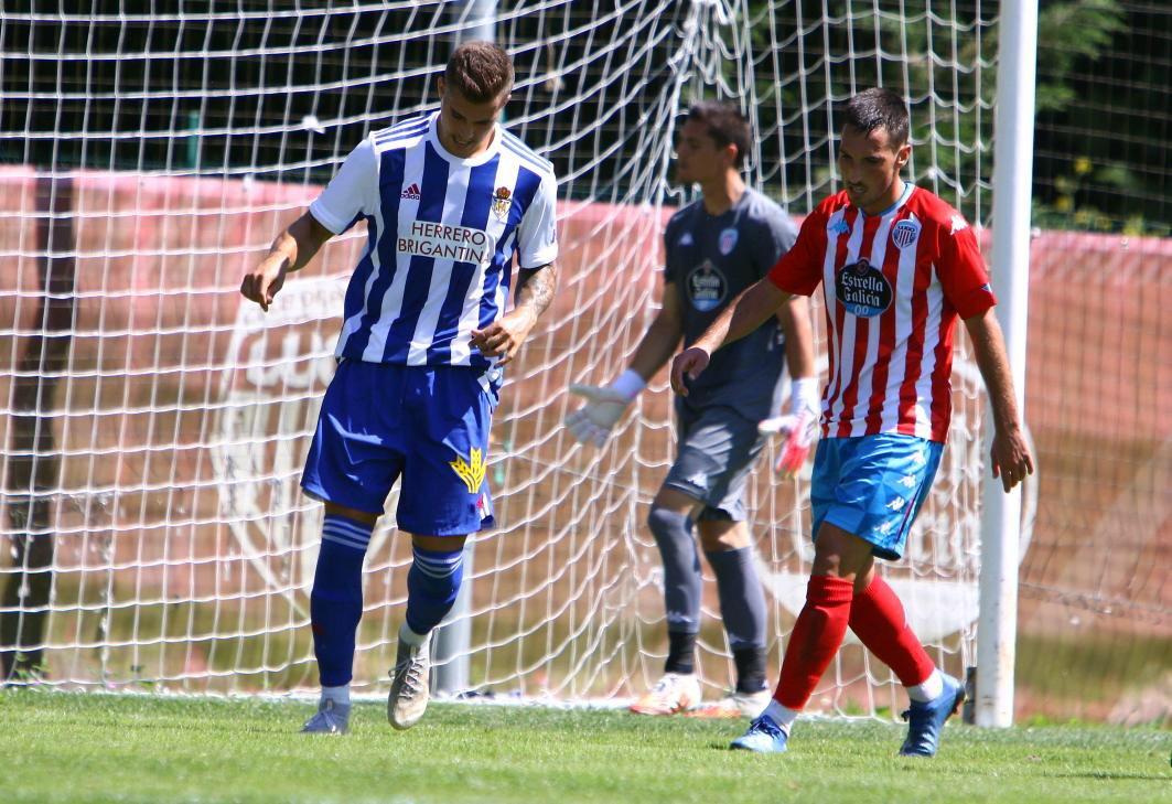La Ponferradina inicia la pretemporada con victoria ante el Lugo en O Ceao (1-2) 1