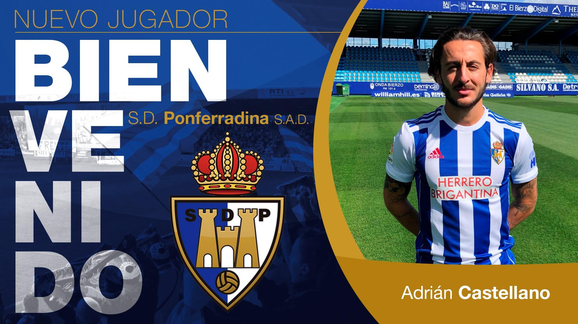 La SD Ponferradina incorpora a Adrián Castellano 1