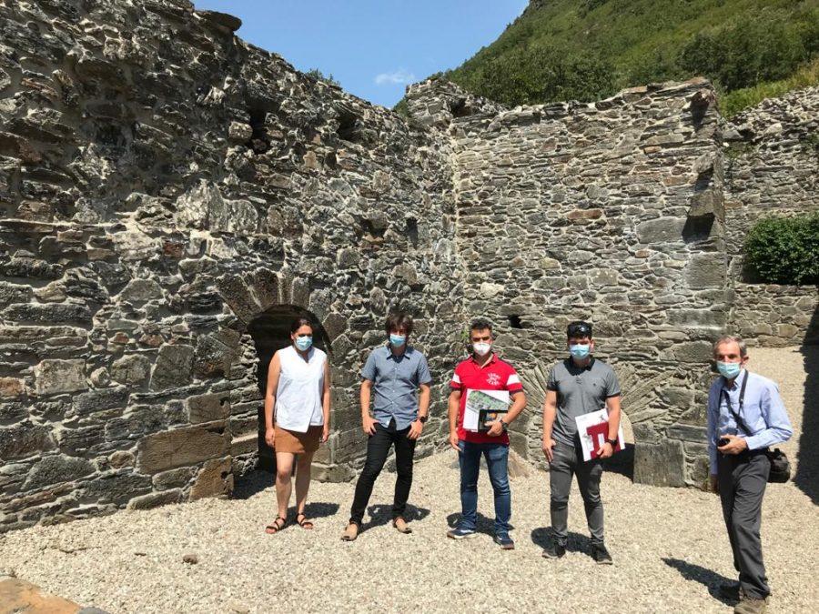 Terminan las obras de restauración de la antigua herrería de Tejedo de Ancares 1