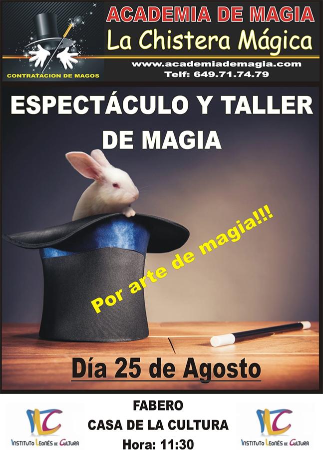 Espectáculo y Taller de Magia el próximo martes en la Casa de la Cultura de Fabero 1
