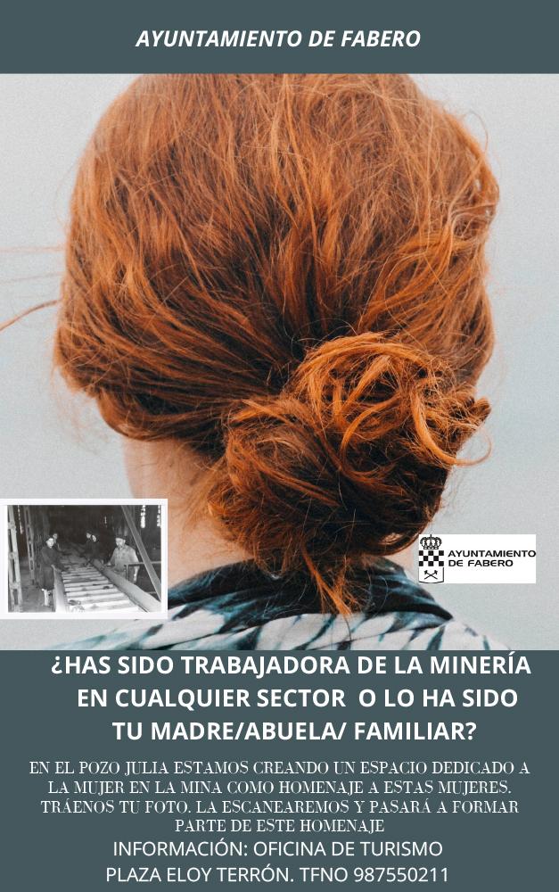 El pozo Julia de Fabero solicita la colaboración de los vecinos para crear el archivo 'Mujeres en la mina' 1