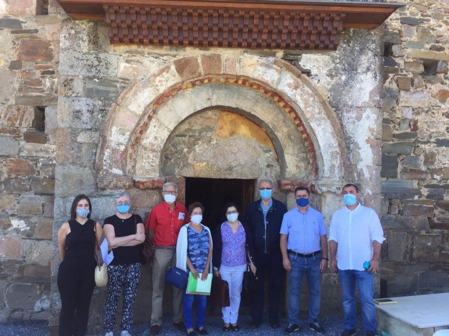 Terminadas las obras de restauración en la iglesia de Santa María de Vizbayo en Otero de Ponferrada 1