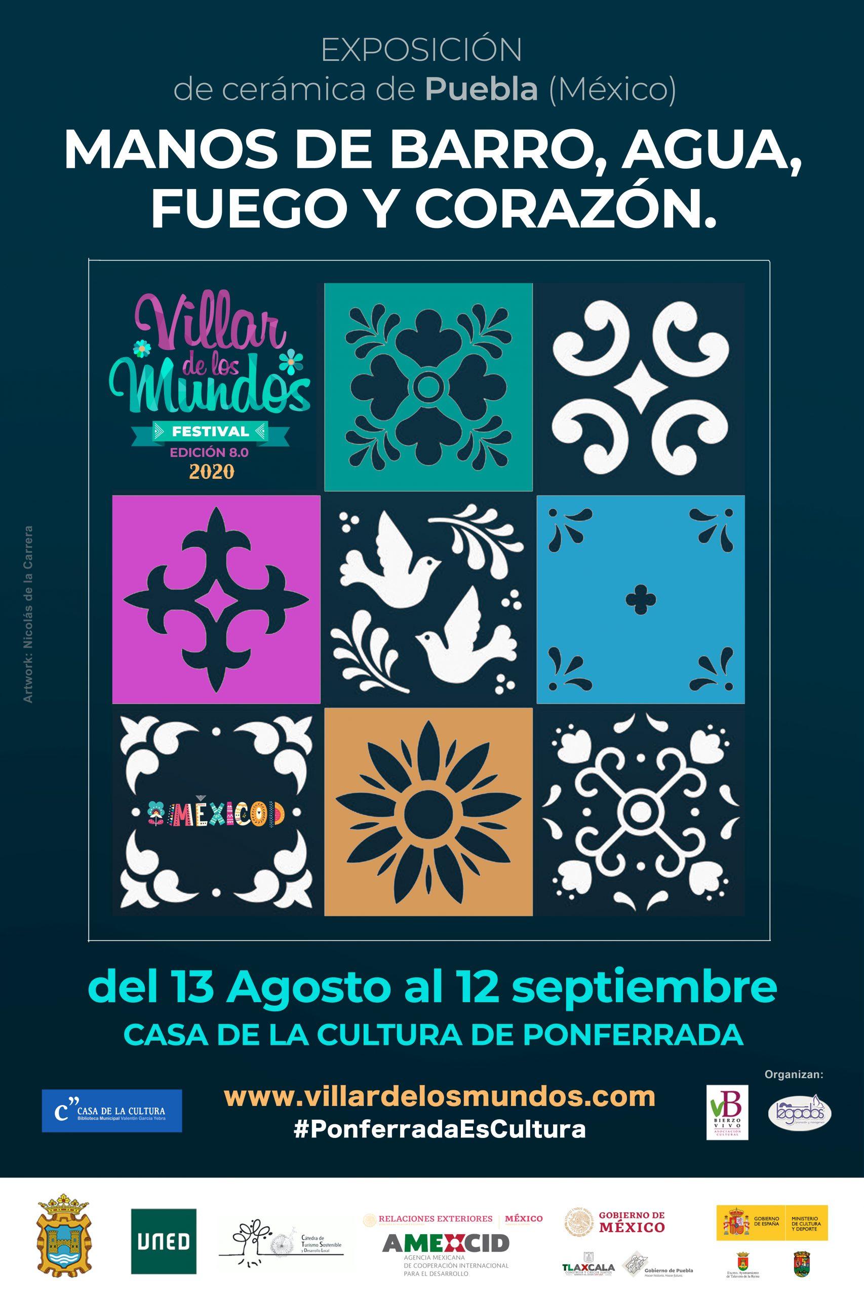 Inaugurada en la Casa de la Cultura de Ponferrada la exposición 'Manos de barro, agua, fuego y corazón' 2